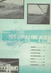Page 7, 1959 Edition, Miramonte High School - Mirada Yearbook (Orinda, CA) online yearbook collection