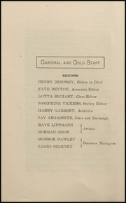 Page 12, 1907 Edition, Oxnard High School - Cardinal and Gold Yearbook (Oxnard, CA) online yearbook collection