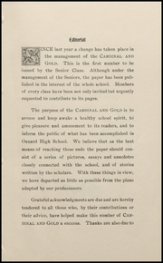 Page 13, 1907 Edition, Oxnard High School - Cardinal and Gold Yearbook (Oxnard, CA) online yearbook collection