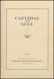 Page 5, 1930 Edition, Oxnard High School - Cardinal and Gold Yearbook (Oxnard, CA) online yearbook collection
