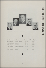 Page 11, 1937 Edition, Oxnard High School - Cardinal and Gold Yearbook (Oxnard, CA) online yearbook collection