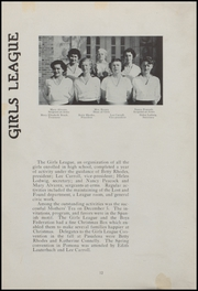 Page 14, 1937 Edition, Oxnard High School - Cardinal and Gold Yearbook (Oxnard, CA) online yearbook collection
