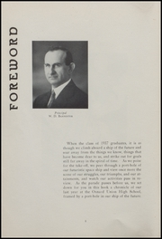 Page 6, 1937 Edition, Oxnard High School - Cardinal and Gold Yearbook (Oxnard, CA) online yearbook collection