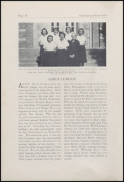 Page 16, 1939 Edition, Oxnard High School - Cardinal and Gold Yearbook (Oxnard, CA) online yearbook collection