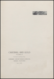 Page 5, 1939 Edition, Oxnard High School - Cardinal and Gold Yearbook (Oxnard, CA) online yearbook collection