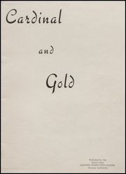 Page 3, 1943 Edition, Oxnard High School - Cardinal and Gold Yearbook (Oxnard, CA) online yearbook collection