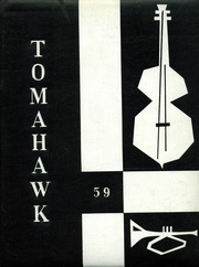 1959 Edition, Birmingham High School - Tomahawk Yearbook (Van Nuys, CA)
