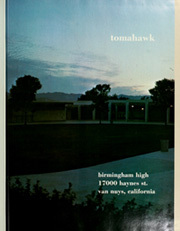 Page 5, 1973 Edition, Birmingham High School - Tomahawk Yearbook (Van Nuys, CA) online yearbook collection