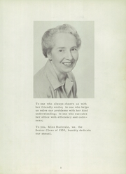 Page 9, 1955 Edition, Castilleja School - Indian Paintbrush Yearbook (Palo Alto, CA) online yearbook collection