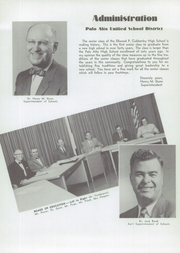 Page 9, 1952 Edition, Cubberley High School - Totem Yearbook (Palo Alto, CA) online yearbook collection