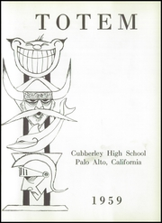 Page 5, 1959 Edition, Cubberley High School - Totem Yearbook (Palo Alto, CA) online yearbook collection