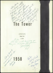 Page 5, 1958 Edition, St Andrews High School - Tower Yearbook (Pasadena, CA) online yearbook collection