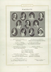Page 16, 1924 Edition, Piedmont High School - Clan O Log Yearbook (Piedmont, CA) online yearbook collection