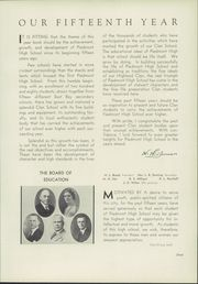 Page 15, 1936 Edition, Piedmont High School - Clan O Log Yearbook (Piedmont, CA) online yearbook collection