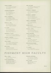 Page 17, 1936 Edition, Piedmont High School - Clan O Log Yearbook (Piedmont, CA) online yearbook collection