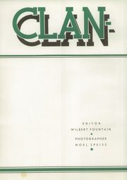 Page 6, 1937 Edition, Piedmont High School - Clan O Log Yearbook (Piedmont, CA) online yearbook collection