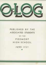 Page 7, 1937 Edition, Piedmont High School - Clan O Log Yearbook (Piedmont, CA) online yearbook collection