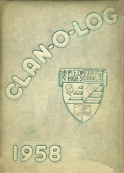 Page 1, 1958 Edition, Piedmont High School - Clan O Log Yearbook (Piedmont, CA) online yearbook collection