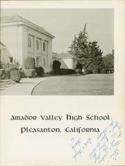 Page 7, 1966 Edition, Amador Valley High School - Don Days Yearbook (Pleasanton, CA) online yearbook collection