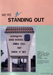Page 5, 1987 Edition, Arlington High School - Simba Kali Yearbook (Riverside, CA) online yearbook collection