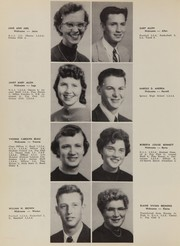 Page 14, 1957 Edition, Quincy High School - Pine Yearbook (Quincy, CA) online yearbook collection