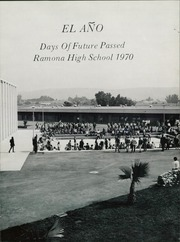 Page 5, 1970 Edition, Ramona High School - El Ano Yearbook (Ramona, CA) online yearbook collection