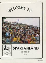 Page 5, 1981 Edition, Red Bluff High School - Spartanland Yearbook (Red Bluff, CA) online yearbook collection