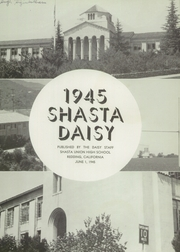 Page 5, 1945 Edition, Shasta High School - Daisy Yearbook (Redding, CA) online yearbook collection
