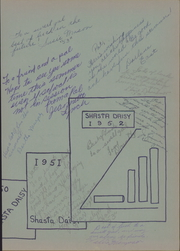 Page 3, 1952 Edition, Shasta High School - Daisy Yearbook (Redding, CA) online yearbook collection