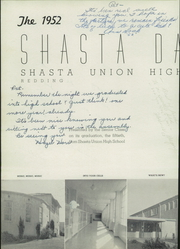 Page 6, 1952 Edition, Shasta High School - Daisy Yearbook (Redding, CA) online yearbook collection