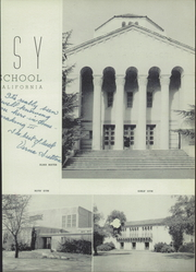 Page 7, 1952 Edition, Shasta High School - Daisy Yearbook (Redding, CA) online yearbook collection