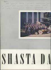 Page 6, 1953 Edition, Shasta High School - Daisy Yearbook (Redding, CA) online yearbook collection