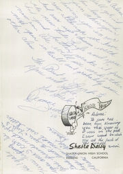 Page 5, 1955 Edition, Shasta High School - Daisy Yearbook (Redding, CA) online yearbook collection