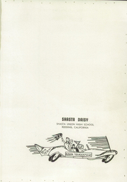 Page 5, 1957 Edition, Shasta High School - Daisy Yearbook (Redding, CA) online yearbook collection