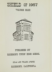 Page 5, 1957 Edition, Richmond High School - Shield Yearbook (Richmond, CA) online yearbook collection