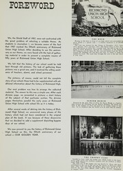Page 9, 1957 Edition, Richmond High School - Shield Yearbook (Richmond, CA) online yearbook collection