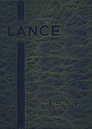 Ripon Christian High School - Lance Yearbook (Ripon, CA) online yearbook collection, 1951 Edition, Page 1