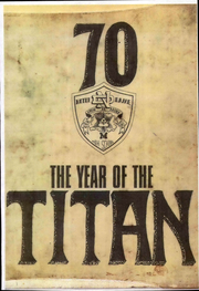1970 Edition, Notre Dame High School - Titan Yearbook (Riverside, CA)