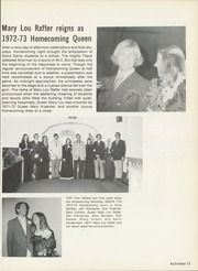 Page 17, 1973 Edition, Notre Dame High School - Titan Yearbook (Riverside, CA) online yearbook collection