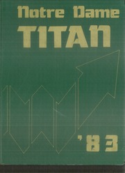1983 Edition, Notre Dame High School - Titan Yearbook (Riverside, CA)
