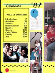 Page 8, 1987 Edition, Foothill High School - Equi Yearbook (Sacramento, CA) online yearbook collection