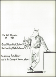 Page 5, 1954 Edition, Grant Union High School - Del Pasado Yearbook (Sacramento, CA) online yearbook collection
