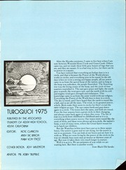 Page 5, 1975 Edition, Azusa High School - Turoquoi Yearbook (Azusa, CA) online yearbook collection