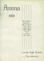 Page 7, 1958 Edition, Loretto High School - Anima Yearbook (Sacramento, CA) online yearbook collection