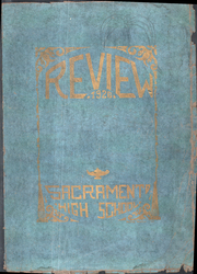 Page 1, 1926 Edition, Sacramento High School - Review Yearbook (Sacramento, CA) online yearbook collection