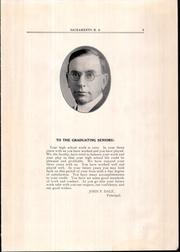 Page 9, 1926 Edition, Sacramento High School - Review Yearbook (Sacramento, CA) online yearbook collection