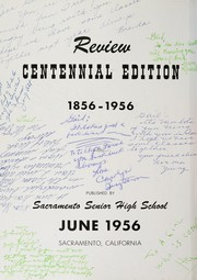Page 6, 1956 Edition, Sacramento High School - Review Yearbook (Sacramento, CA) online yearbook collection