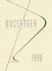1959 Edition, Sir Francis Drake High School - Buccaneer Yearbook (San Anselmo, CA)