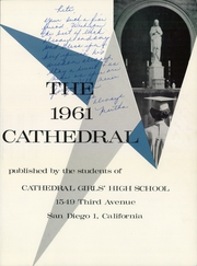 Page 5, 1961 Edition, Cathedral Girls High School - Cathedral Yearbook (San Diego, CA) online yearbook collection