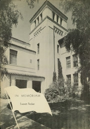 Page 8, 1938 Edition, Herbert Hoover High School - Dias Cardinales Yearbook (San Diego, CA) online yearbook collection